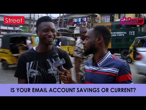 Is Your Email Account Savings Or Current?  DelarueTV | Street'ish
