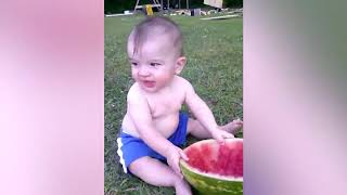 Funny Baby's Outdoor Moments