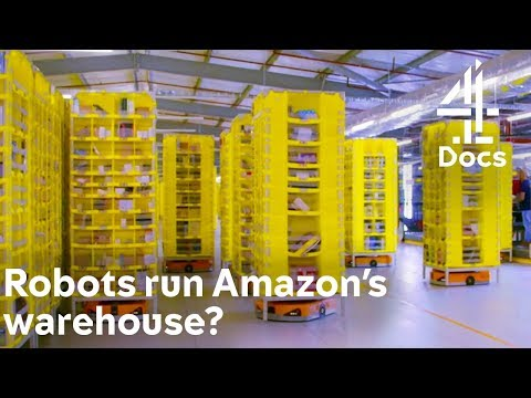 Amazon Warehouse is Run by Robots?