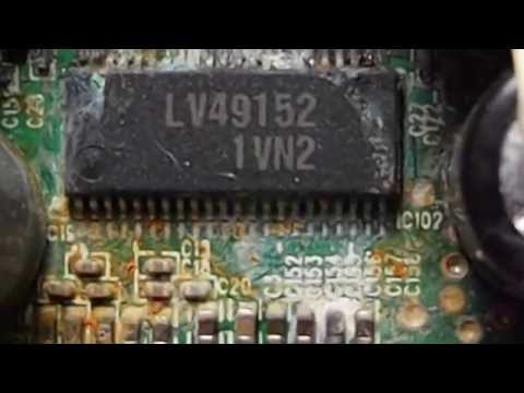 JVC KaBoom Box RV-NB70-B : 271-ST0049-B10X0 PCB : Water Damage