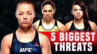 5 Biggest Threats To Rose Namajunas In The UFC