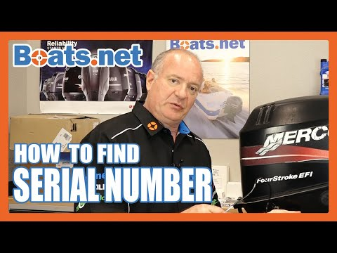 How To Find The Serial Number On A Mercury Outboard | Mercury Outboard Serial Number Location