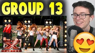 Group 13 cover Tina Turner's Proud Mary X Factor UK REACTION!