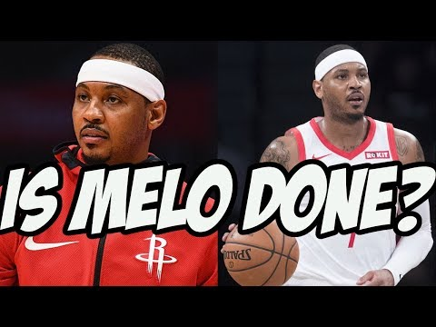 Rockets Waive Carmelo Anthony - Is He Still An NBA Player?