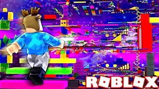 *IMPOSSIBLE* ROBLOX RAINBOW SPEED OBBY RACE!