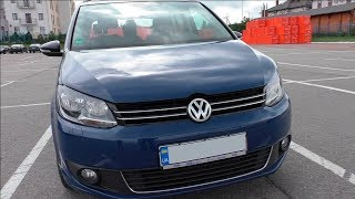 Volkswagen Touran 2.0TDI DSG 2012 - Осмотр