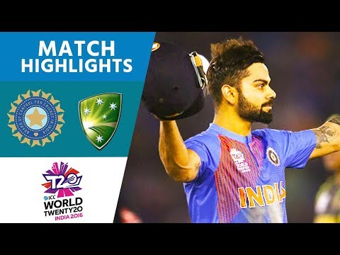 ICC WT20  India vs Australia Highlights