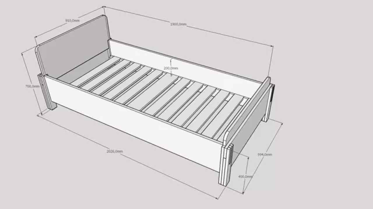 Как сделать кровать из фанеры фото 787