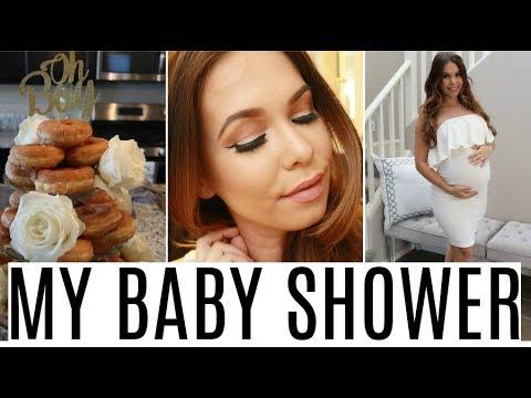 MY BABY SHOWER + Makeup Tutorial