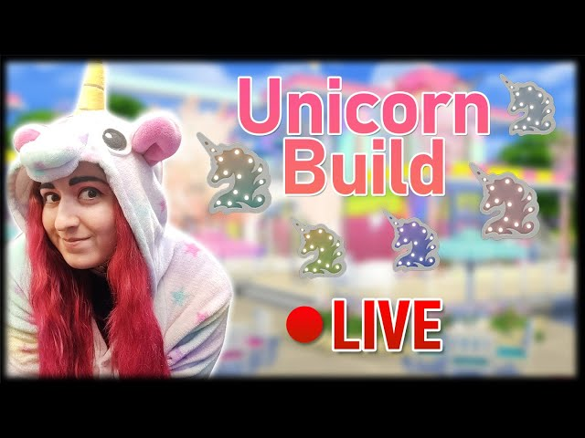 🌈Happy National Unicorn Day🦄Let's Build a Unicorn Inspired Home - LIVE