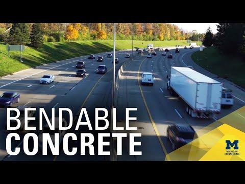 Bendable Concrete | MconneX | MichEpedia