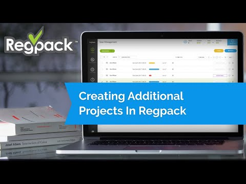 Copy or Create a New Project in Regpack