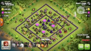 Clash of clans 7 lakh loot never seen ever