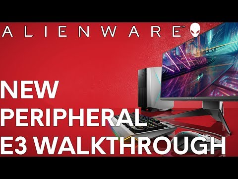 Alienware Gaming Peripheral E3 Walkthrough