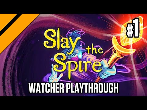 Slay the Spire 2.0 - My First Watcher Playthrough P1