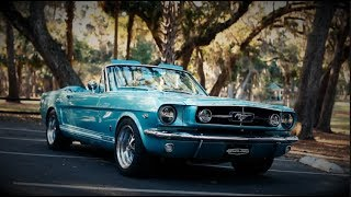 Production Car Review - Dynasty Green 1965 Mustang GT Convertible