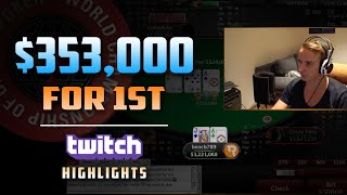 $353,000 FOR 1ST DEEP RUN $10K WCOOP | Twitch Highlights