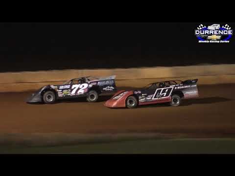 Durrence Layne Weekly Late Model Feature at Moulton Speedway