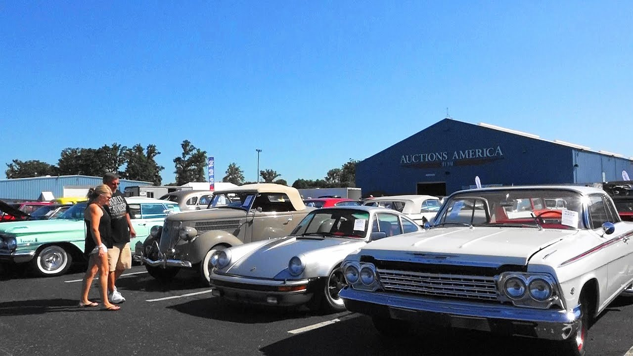 2016 Auctions America Auburn Fall Collector Car Weekend Sunday All ...