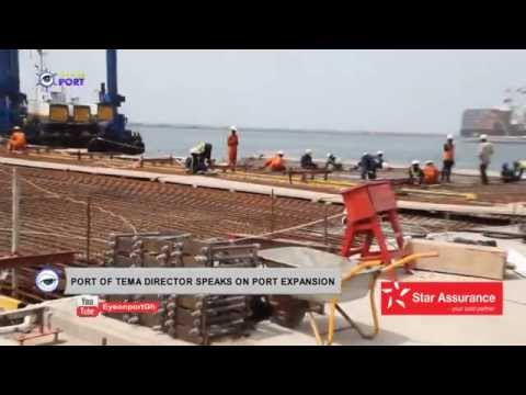 PORT OF TEMA DIRECTOR SPEAKS ON PORT EXPANSION