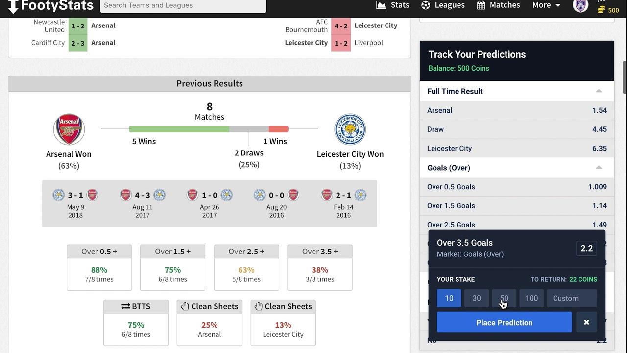 Virtual Betting on FootyStats - FootyStats News : FootyStats