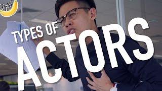 Types of Actors