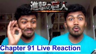 New Titans!! - Attack On Titan Manga Chapter 91 Live Reaction (Shingeki no Kyojin)