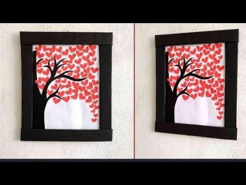 Wall Hanging Craft Ideas With Paper DIY | How to Make wall Hanging with paper | by crafty Dolly