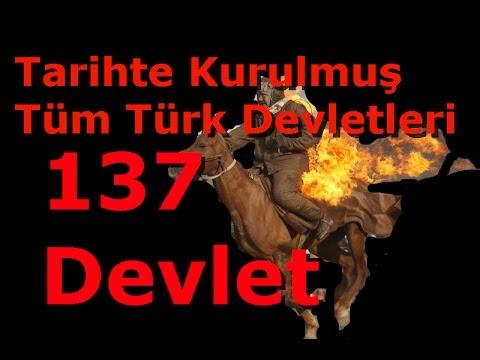Türk Tarihi ve 137 Türk Devleti / 137 Turkic States in History