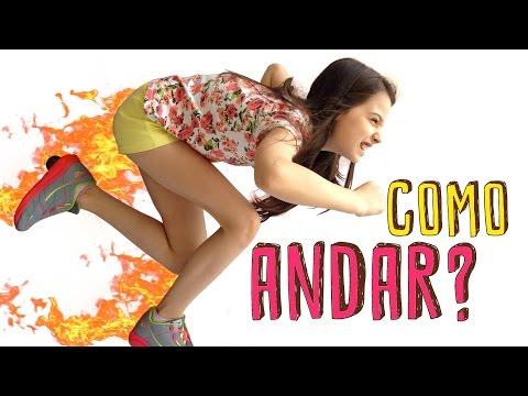 DECOLANDO COM O TÊNIS DE RODINHA - COMO ANDAR? - Giulia Kids