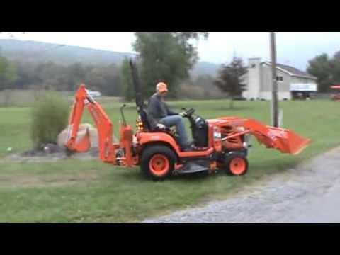 2007 Kubota BX24 Sub Compact Tractor Loader Backhoe Mower ...