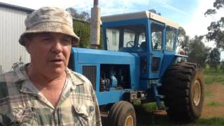 Large Homemade Tractor