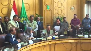 Minister of Manpower and Ismailia Governor sign a protocol to train workers channel