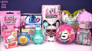 Hairgoals LOL Surprise TOYS Doll 5 NUM NOMS Doorables Peppa Pig Barbie Unboxing KIDS FUN