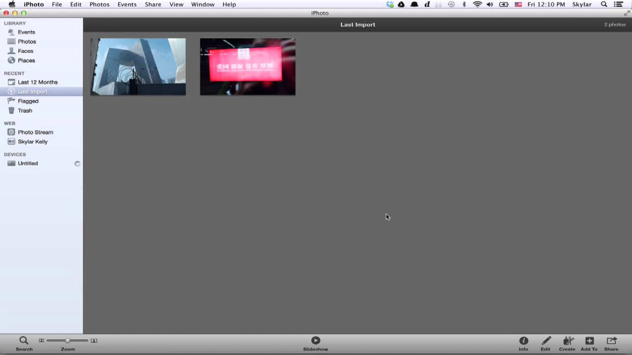 How to Download a Photo From My Camera to Facebook on My Mac : Apple  Devices & Other Tech Tips