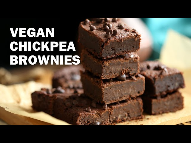 VEGAN CHICKPEA BROWNIES  Grainfree | Vegan Richa Recipes