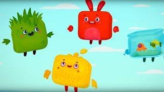 Четверо в кубе - Сборник серий с 14 по 18  - мультики для детей