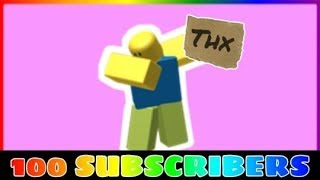 Roblox-100 SUBSCRIBERS!!!! (Game: MCS)