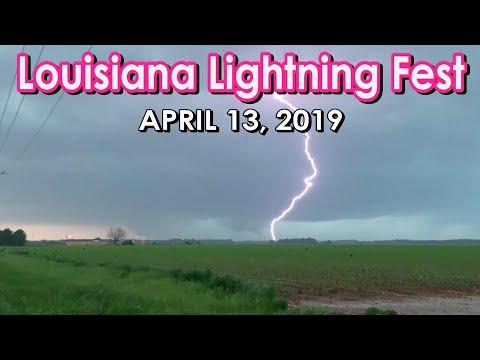 April 13th, 2019 E Louisiana Tornado & Intense Lightning
