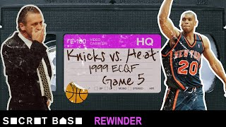 The buzzer-beating climax of the '90s Knicks-Heat rivalry needs a deep rewind