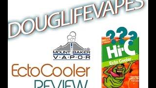 Douglifevapes E Juice Review: Mt Baker Vapor Ecto Cooler