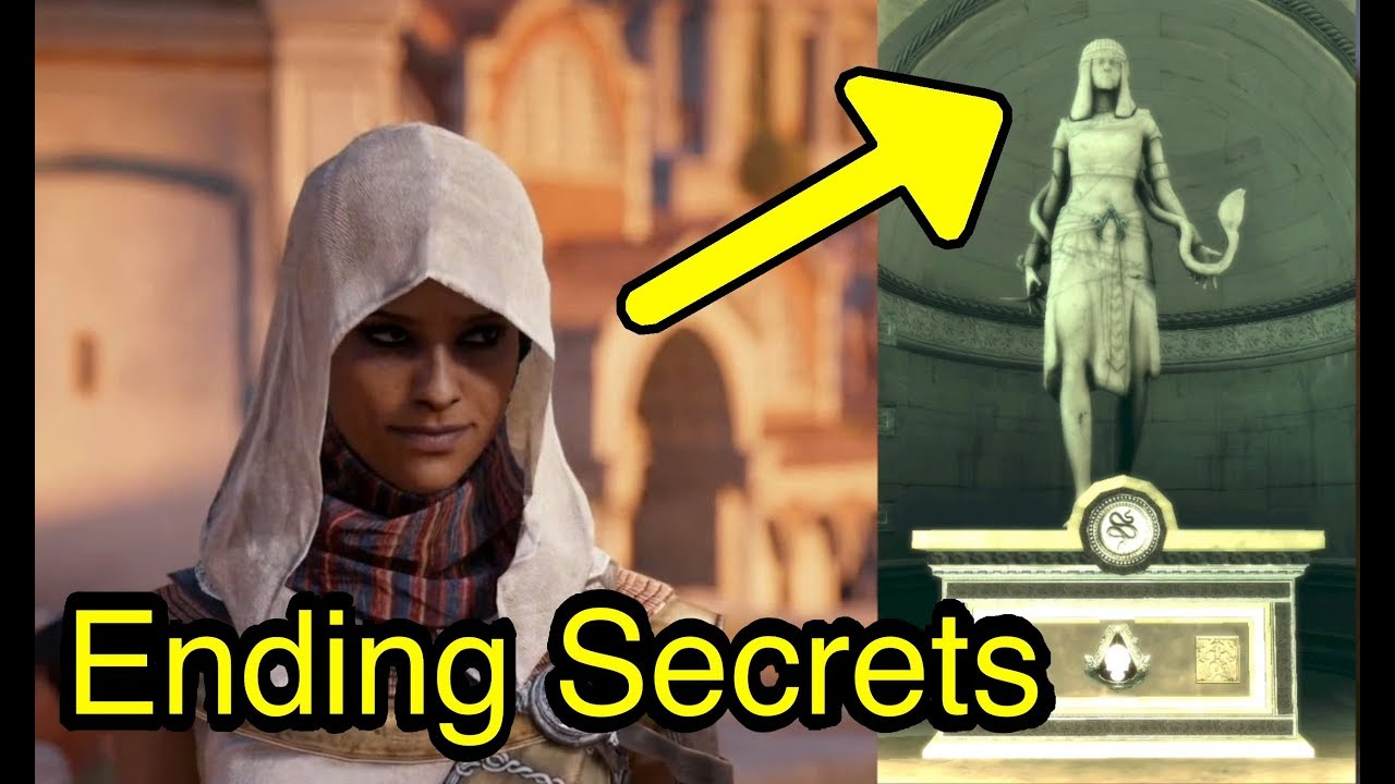 Assassin S Creed Origins Final Ending Revelations With Concept