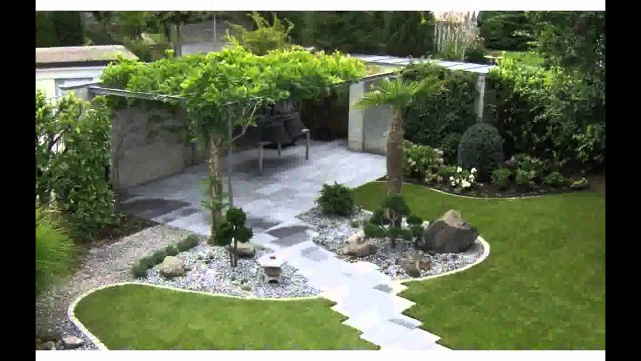Gartenideen Fr Kleine Grten design  YouTube