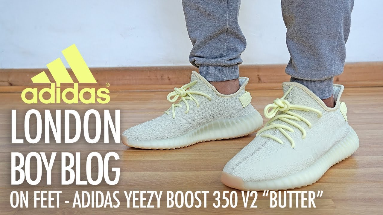 competitive price 9088e a897f On Feet - Adidas Yeezy BOOST 350 V2