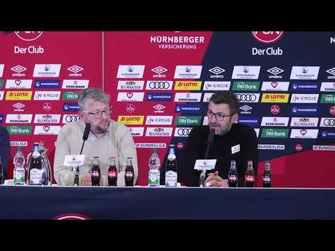 Pressekonferenz nach dem Aue-Spiel