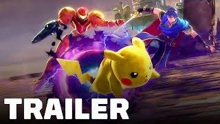 Super Smash Bros. Ultimate - Cinematic Trailer thumbnail