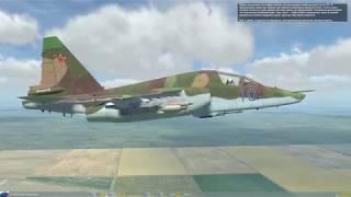 DCS World: Обучение Су-25Т - Бомбометание в невидимую зону.