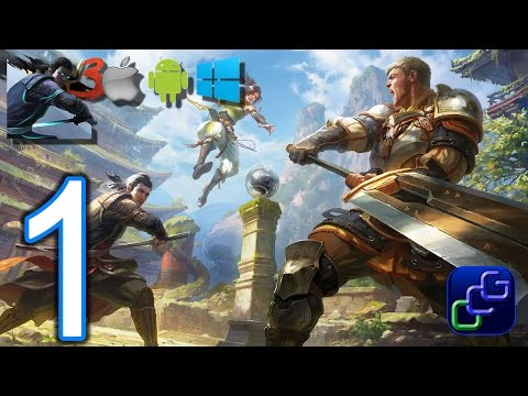 Shadow Fight 3 Android iOS Windows BETA Gameplay - Part 1 - Main Quest