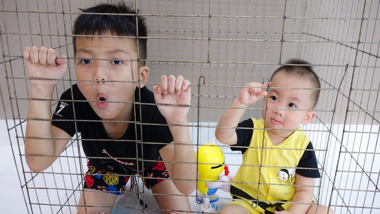 طفل وأخ - استمتع الألعاب