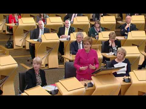 First Minister's Questions - 18 January 2018